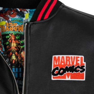 Disney Store Marvel Reversible Bomber Jacket for Adults