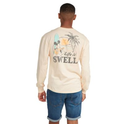 """Disney Store T-shirt Mickey """"Life is Swell"""" pour adultes"""