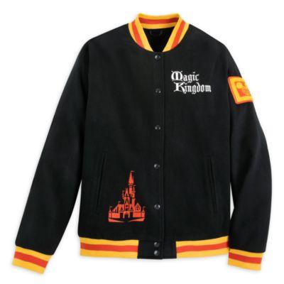 Walt Disney World Magic Kingdom 50th Anniversary Varsity Jacket For Adults