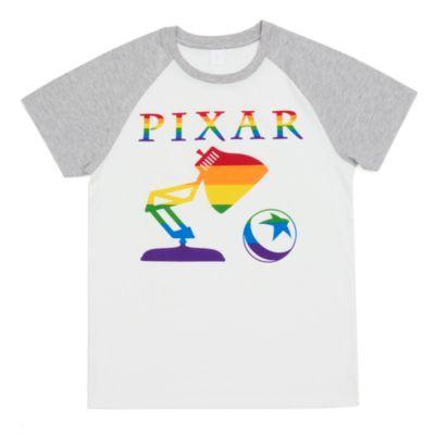 Disney Store T-shirt Pixar pour adultes, Rainbow Disney