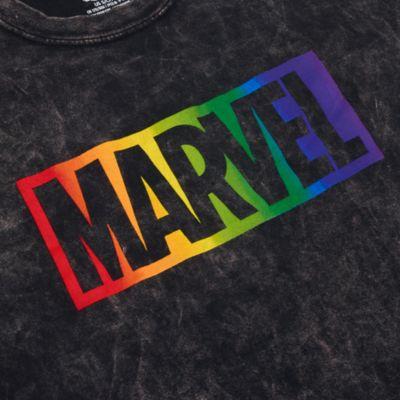 Disney Store T-shirt Marvel pour adultes, Rainbow Disney