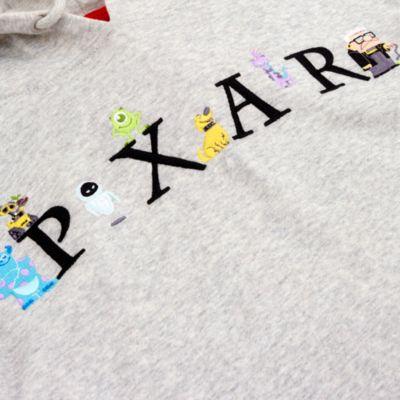 Disney Store Sweat à capuche réversible World of Pixar pour adultes