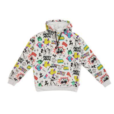 Disney Store Sweatshirt Mickey à capuche, collection Disney Artist