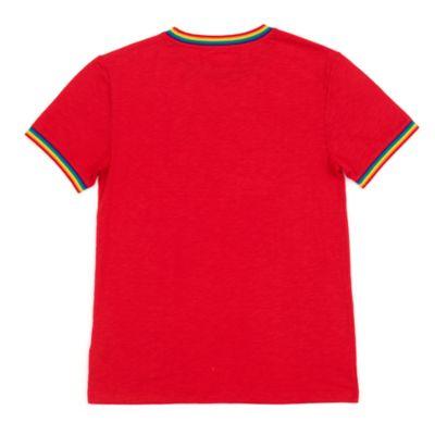 Disney Store T-shirt Mickey Rainbow Heart pour adultes, Rainbow Disney