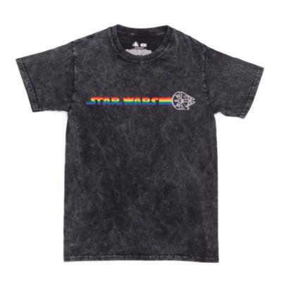 Disney Store Star Wars Rainbow Disney T-Shirt For Adults