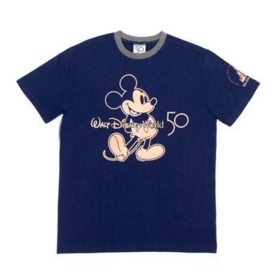 Camiseta 50.º aniversario Mickey Mouse para adultos, Walt Disney World