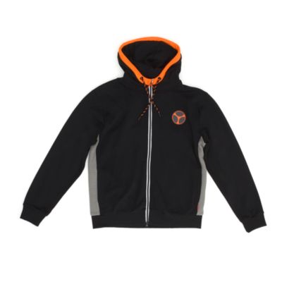 Disney Store Taskmaster Hooded Sweatshirt For Adults, Black Widow