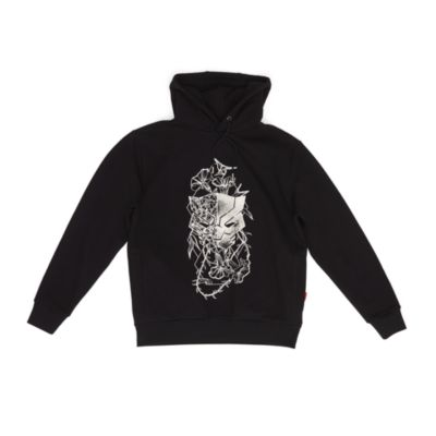 Disney Store Black Panther Hooded Sweatshirt For Adults
