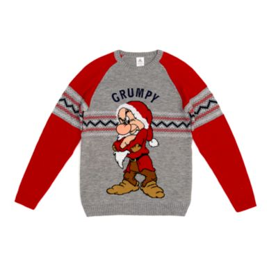 Disney Store Pull de Noël Grincheux pour adultes
