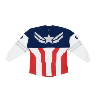 Disney Store Captain America Spirit Jersey For Adults