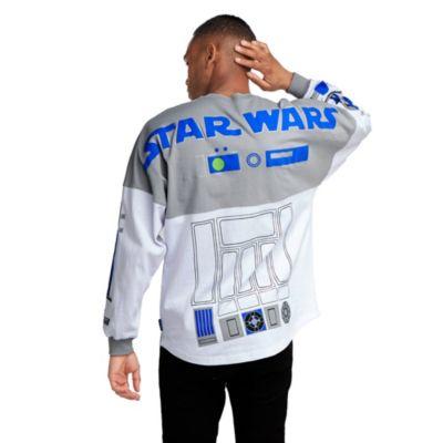 Disney Store Sweatshirt R2-D2 Spirit Jersey pour adultes, Star Wars