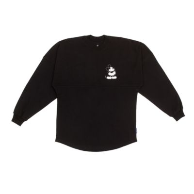 Disney Store Mickey Mouse Black Spirit Jersey For Adults