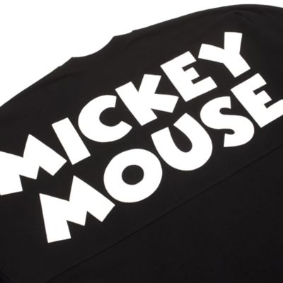 Disney Store Sweat SpiritJersey Mickey noir pour adultes