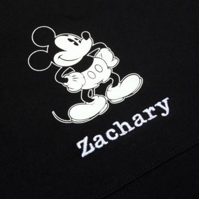 Sudadera universitaria negra Mickey Mouse para adultos, Spirit Jersey, Disney Store