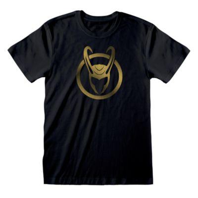 Disney Store T-shirt Casque de Loki pour adultes