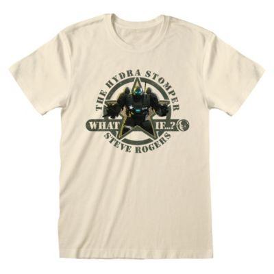 Disney Store T-shirt  Steve Rogers le marcheur d'Hydra pour adultes, Marvel What If...?