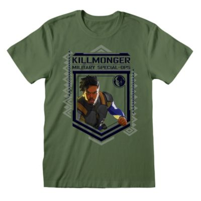 Disney Store T-shirt  Killmonger pour adultes, Marvel What If...?