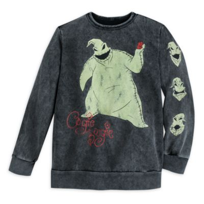 Disney Store Sweatshirt Oogie Boogie pour adultes, L'Étrange Noël de Monsieur Jack