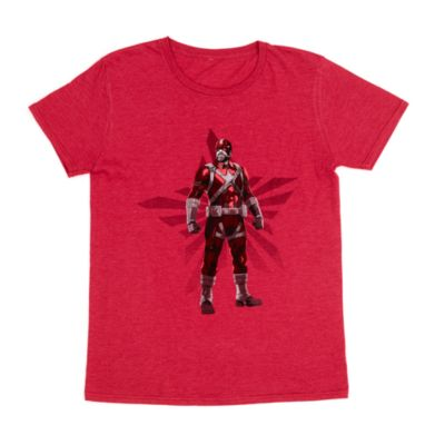 Disney Store Red Guardian T-Shirt For Adults, Black Widow