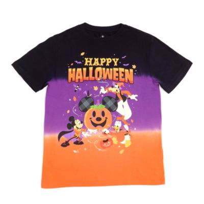 Disney Store Mickey and Friends Halloween T-Shirt For Adults