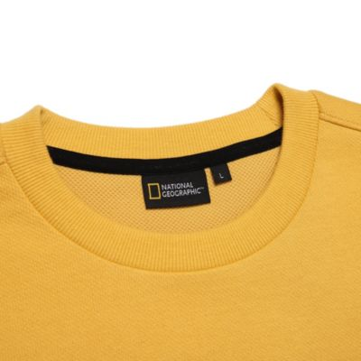 Disney Store Sweat-shirt National Geographic jaune pour adultes