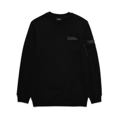 Disney Store Sweat-shirt National Geographic noir pour adultes