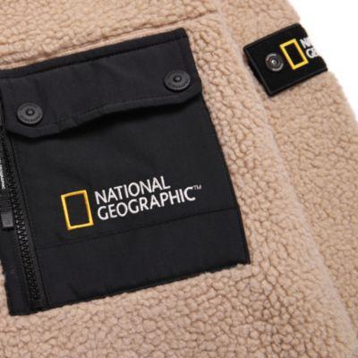Disney Store Polaire National Geographic à capuche beige pour adultes