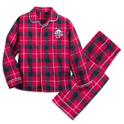 Disney Store Mickey Mouse Pyjamas For Kids, Walt's Holiday Lodge