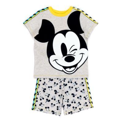 Disney Store Mickey Mouse Organic Cotton Pyjamas For Kids