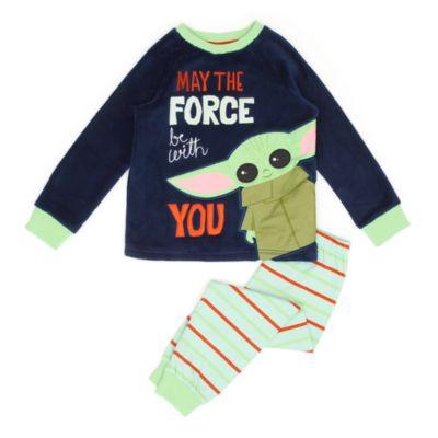 Disney Store Grogu Fluffy Pyjamas For Kids