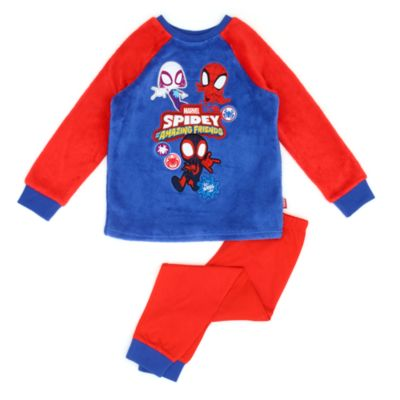 Disney Store Spidey and His Amazing Friends Fluffy Pyjamas For Kids