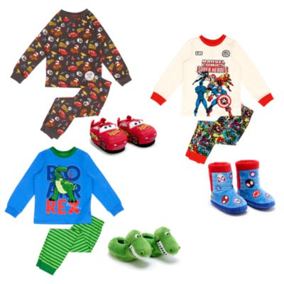 Disney Store Disney Pixar Cars, Toy Story and Marvel Sleepwear Collection For Kids