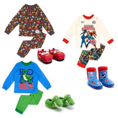 Collezione abbigliamento da notte bimbi Disney Pixar Cars, Toy Story e Marvel Disney Store
