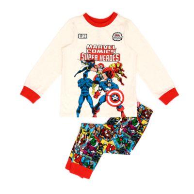 Disney Store Pyjama en coton biologique Marvel Comics pour enfants