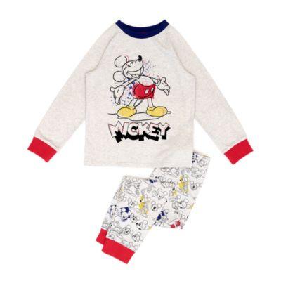 Disney Store Pyjama en coton biologique Mickey pour enfants