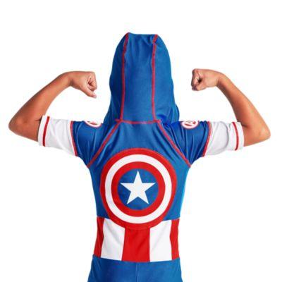 Disney Store Captain America Rash Guard For Kids