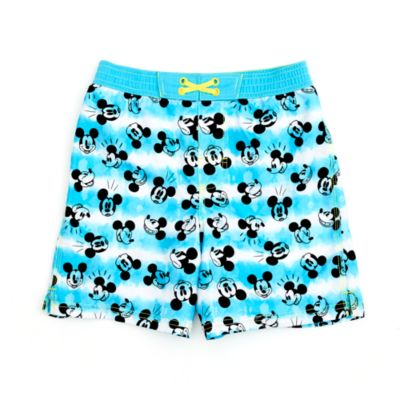 Disney Store Mickey Mouse Swimming Trunks For Kids