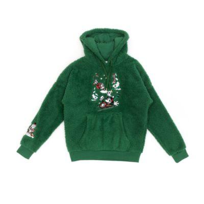 Disney Store - Micky und seine Freunde - Kapuzensweatshirt im Weihnachtsdesign für Erwachsene