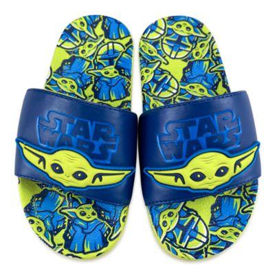 Disney Store Grogu Sliders For Kids, Star Wars