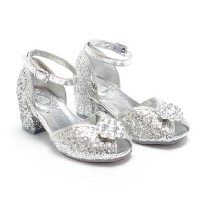 Disney Store Chaussures argentées Princesses Disney pour enfants