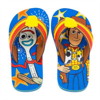 Disney Store Toy Story 4 Flip Flops For Kids