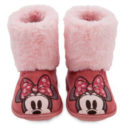 Zapatillas tipo bota infantiles Minnie Mouse, Disney Store