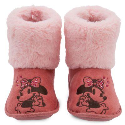 Zapatillas tipo bota Minnie Mouse para adultos, Disney Store