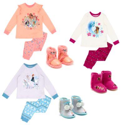 Colección ropa dormir infantil princesas, Raya y el último dragón y Frozen, Disney Store