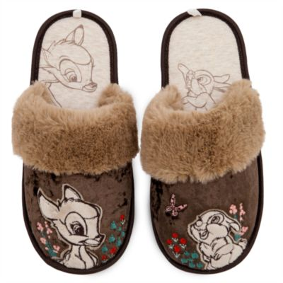Disney Store Bambi Slippers For Adults