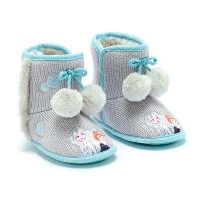 Disney Store Frozen 2 Slipper Boots For Kids