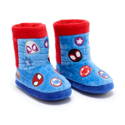 Disney Store Spidey and His Amazing Friends Slipper Boots For Kids