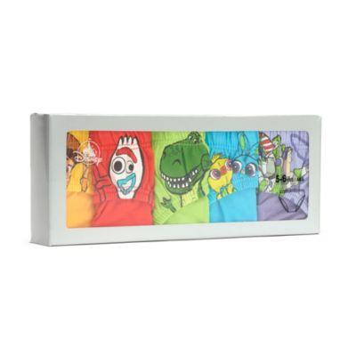 Disney Store Slips Toy Story4 pour enfants, lot de5