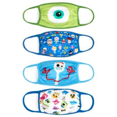 Disney Store Masques en tissu Disney Pixar, lot de 4