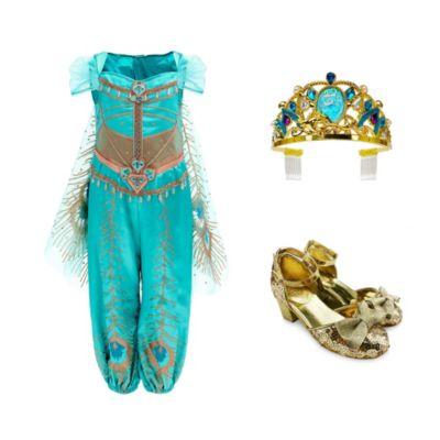 Disney Store Princess Jasmine Costume Collection For Kids, Aladdin